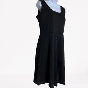 BASIC BLACK  PULLOVER TANK DRESS LARGE